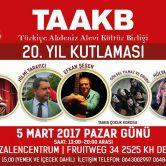 TAAKB 20 jaar viering